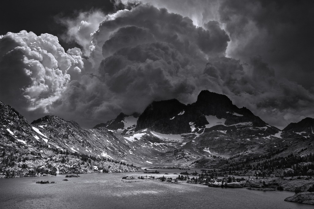 Afternoon Thunderstorm, Lake Garnet