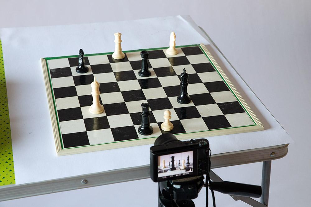 Escena fotografía profundidad de campo
