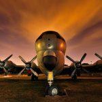 Stratotanker, fotografía nocturna y light painting de Mario Rubio