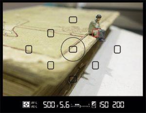 Ejemplo fotografía punto de enfoque manual