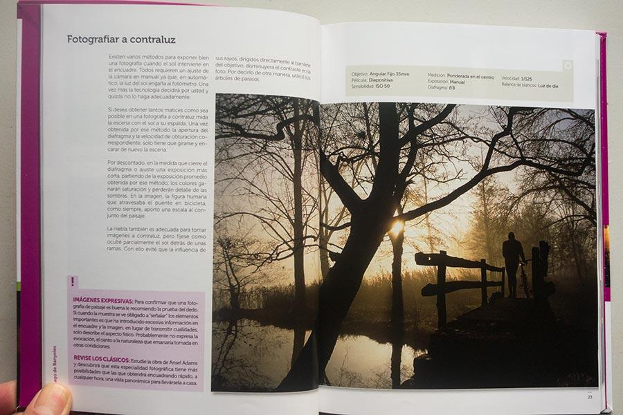 """Interior, libro """"Foto a Foto"""", colección Fotoruta, de Tino Soriano"""