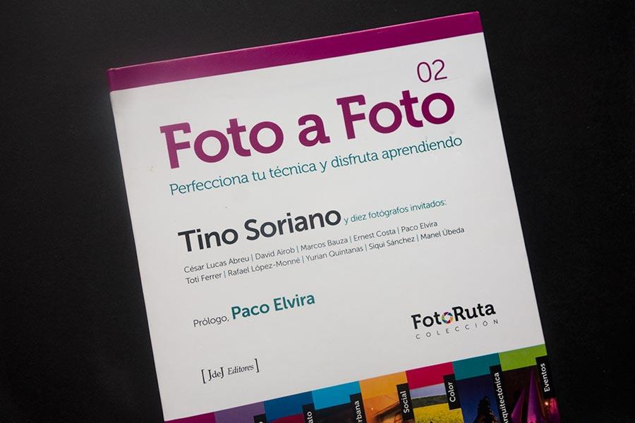 "Portada, libro ""Foto a Foto"", colección Fotoruta, de Tino Soriano"
