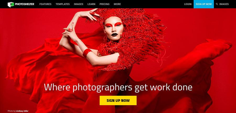 Plataforma inspiracion fotografia: Photoshelter