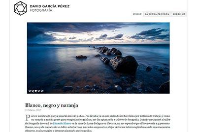 Portada del Blog de David García Pérez