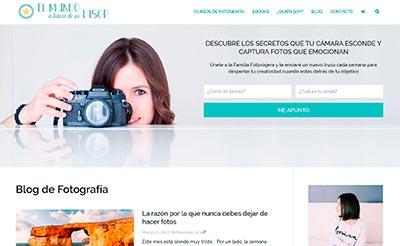 Portada Blog el Mundo a través de un visor