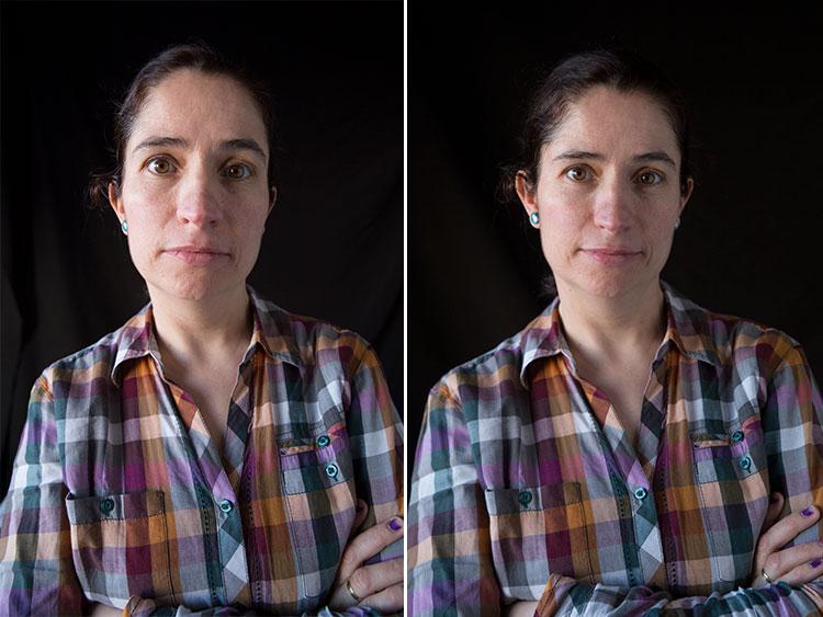 Ejemplo diferencia entre 24mm y 50mm