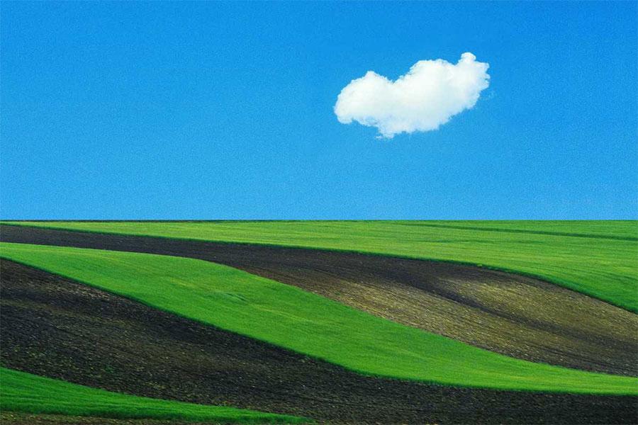 Fotografía de paisaje de Franco Fontana