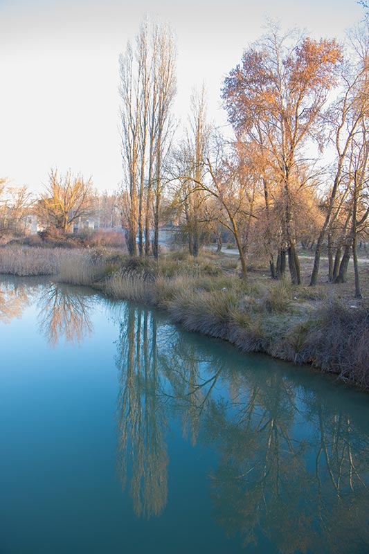 Fotografía río Júcar sin tredipación