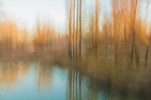 Fotografía pictórica del río Júcar (recorte), Braulio Moreno