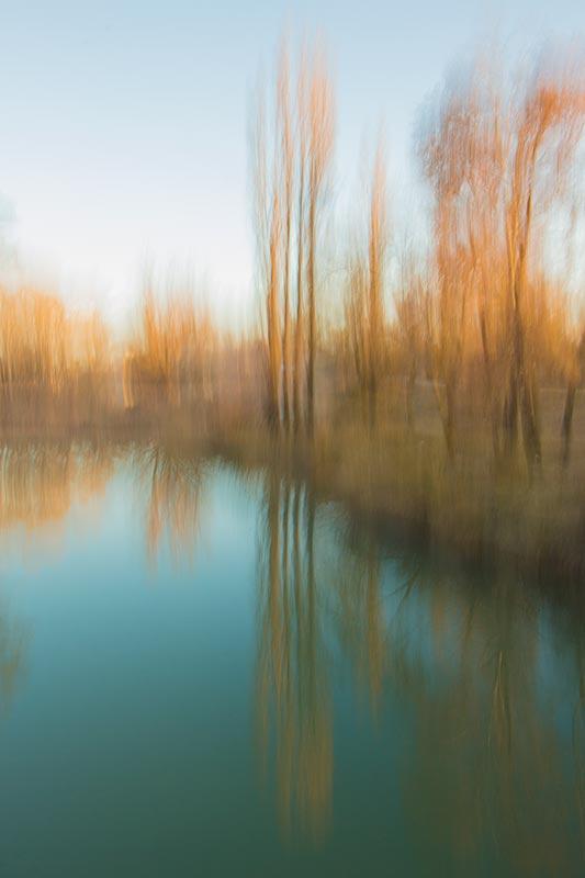 Fotografía pictórica del río Júcar, Braulio Moreno
