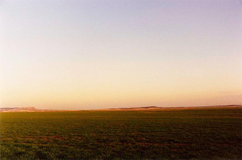 fotografía de paisaje manchego, inicios Braulio