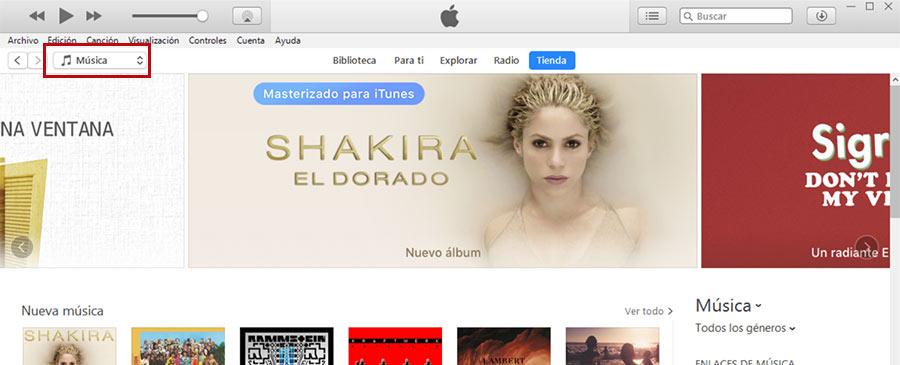 Dejar reseña en iTunes, cambiar a podcasts
