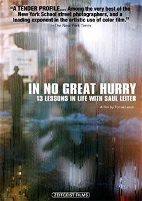 Documental fotografía: In no great hurry