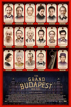 Película fotografía Gran Hotel Budapest
