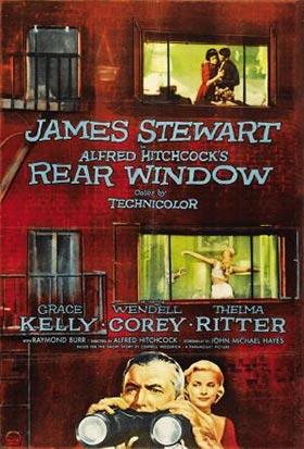 Película fotografía La ventana indiscreta
