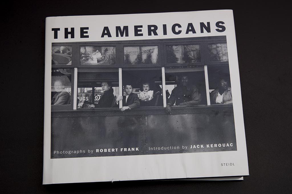 Robert Frank, Los Americanos, portada