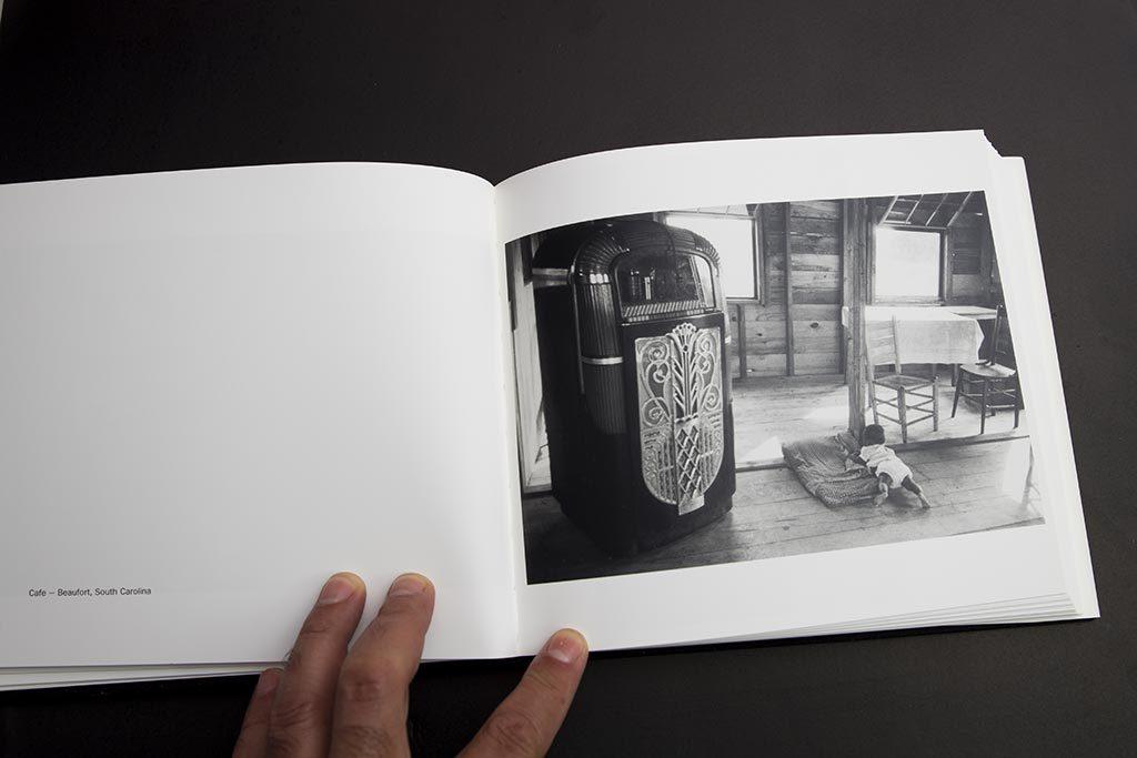Robert Frank, Los Americanos, interior libro