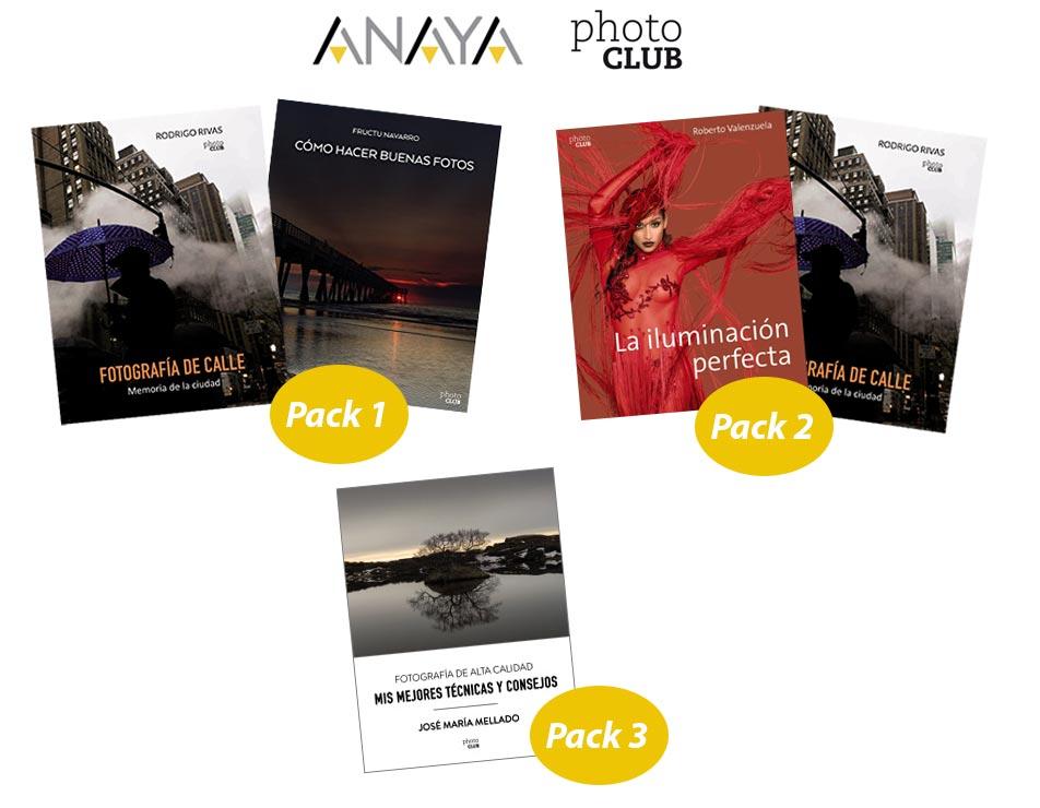 Packs libros sorteo Anaya