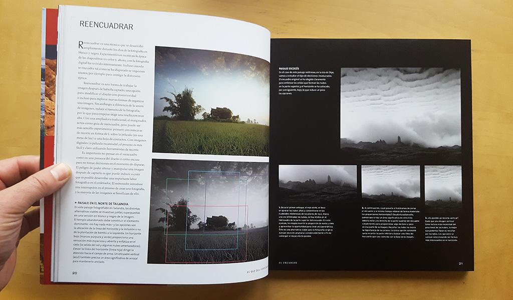 Interior del libro El ojo del fotógrafo, Michael Freeman