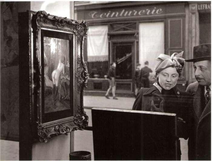 Fotografía de Robert Doisneau, el humor fue un recurso muy utilizado por el fotógrafo