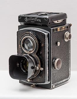 Cámara Rolleiflex Old Standard