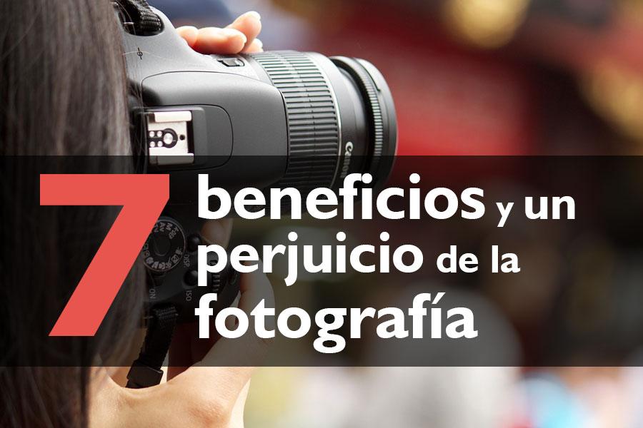 Beneficios de la fotografía