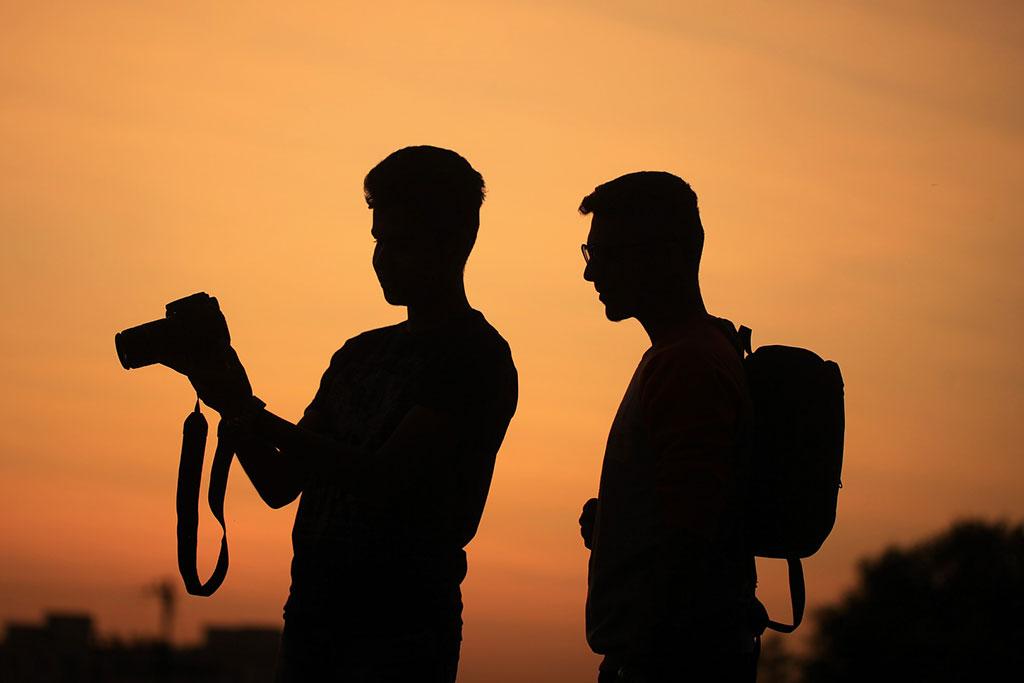 La fotografía ayuda a compartir momentos