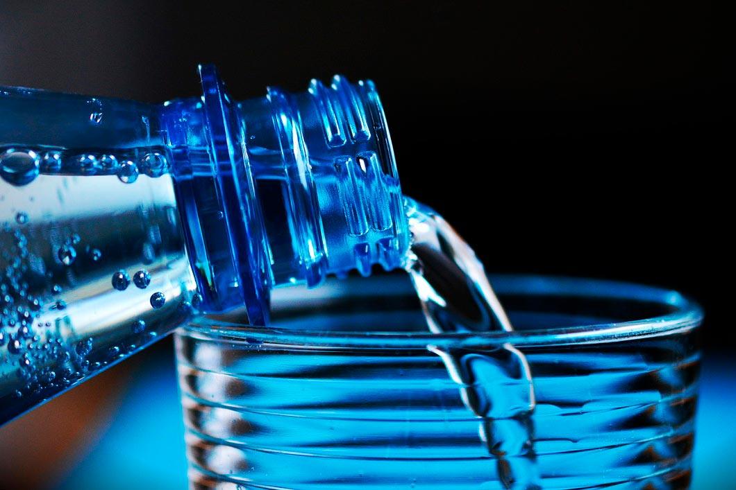 Fotografía de ejemplo color azul