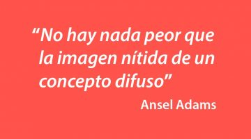 Citas famosas de fotografía, de Ansel Adams
