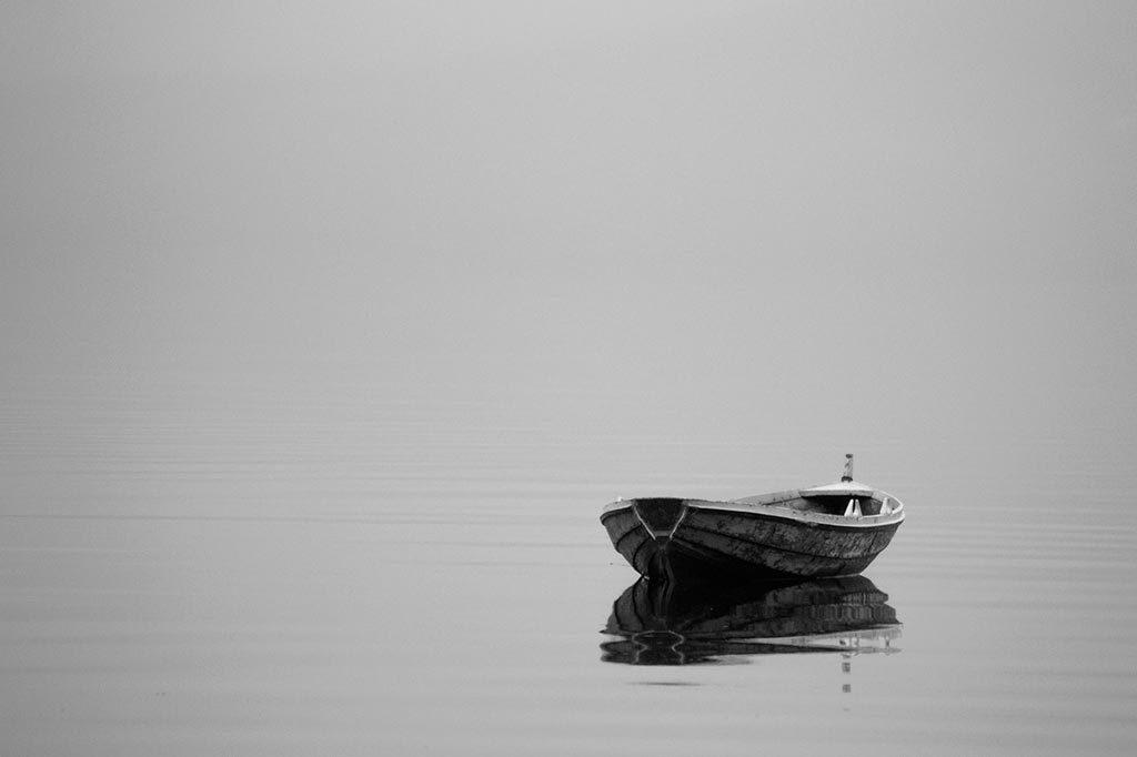 Gestalt principio de simplicidad, fotografía minimalista
