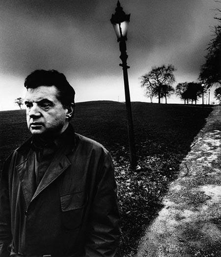 Pintor Francis Bacon, fotografía de Bill Brandt