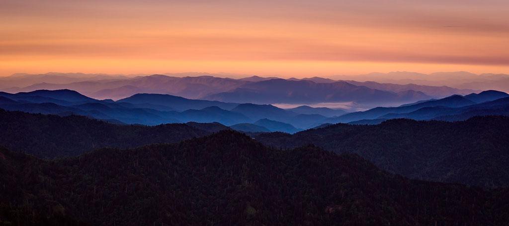 fotografía de paisaje panorámica