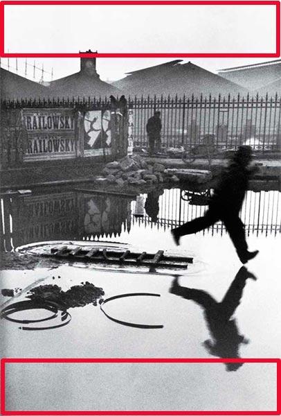 Cartier-Bresson: Plaza de Europa. Tras la estación de San Lázaro. París. Francia. Espacio negativo
