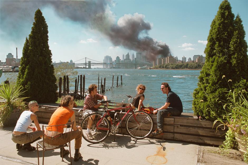 Fotografía de Thomas Hoepker. New York, 2001