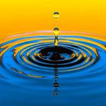 Gota de agua: círculos