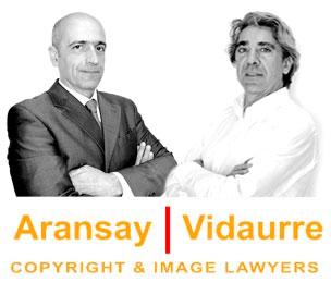 Fotografía de los abogados Borja Vidaurre y Fernando Aransay