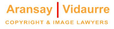 Logotipo despacho de abogados AransayVidaurre - Madrid - España