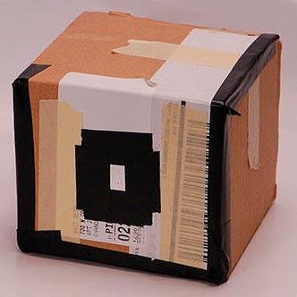 Cámara estenopeica de cartón