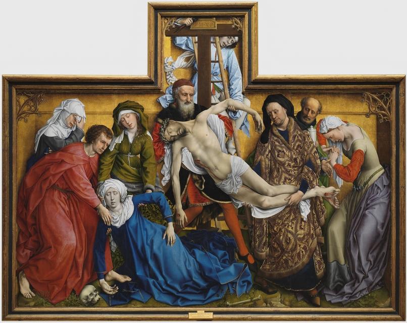 """Cuadro """"Descendimiento de la cruz"""" Rogier Van Der Weyden"""