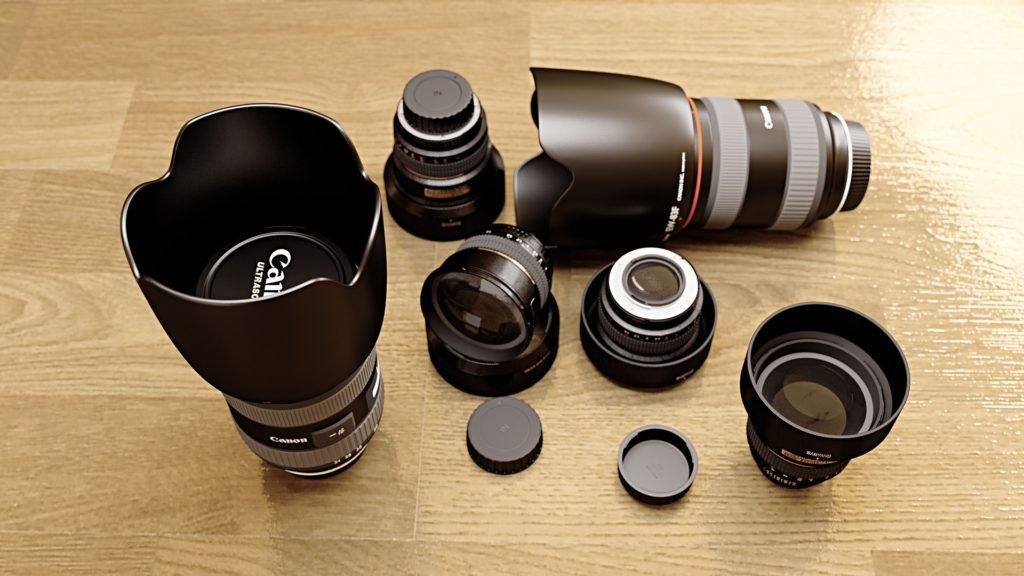 Objetivos cámara