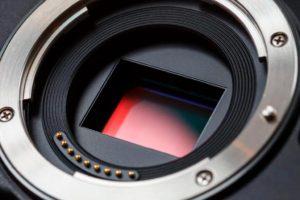 Sensor cámara digital