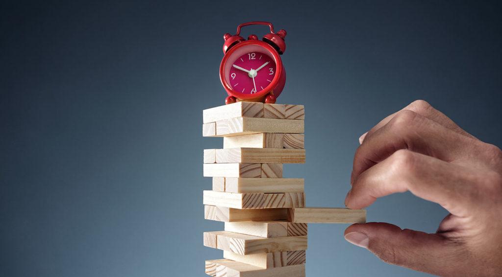 Falta de tiempo, jugando con el tiempo