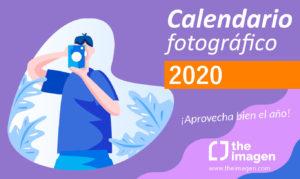 Ejercicios de fotografía, planificación, eventos, calendario 2020