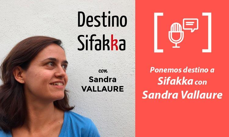 Entrevista a Sandra Vallaure